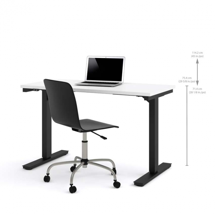 Bestar 24x48 Electric Height Adjustable Table