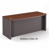 Bestar Connexion Executive desk in 2 Finishes