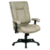 Office Star Deluxe High Back Executive Leather Chair