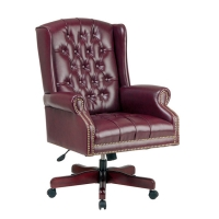 Office Star High Back Traditional Deluxe Executive Chair