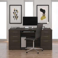 Bestar Embassy Executive Desk - 3 Finishes