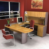 Bestar Executive U-Shape Workstation