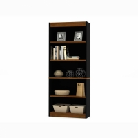 Bestar Innova 5-Shelf Bookcase - 2 Finishes