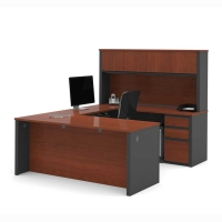 Bestar Prestige Plus U-Shape Executive Desk Set