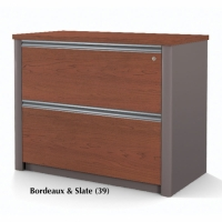 Bestar Connexion 36 inch Lateral File (Fully Assembled) in 2 Finishes