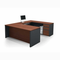 Bestar Prestige Plus U Shaped Workstation Kit