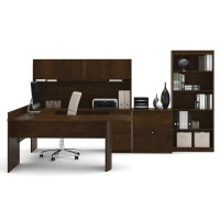 Bestar Executive U-Shape Workstation Set - 2 Finishes