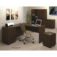 Bestar Prestige Plus L Shaped Desk Group