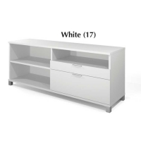 Bestar Pro Linea Credenza with Drawers - 3 Colors