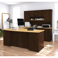 Bestar Manhattan U Shaped Desk in 2 Finishes
