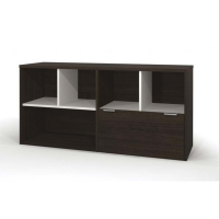 Bestar Contempo Credenza with 1 Drawer (2 Finishes)