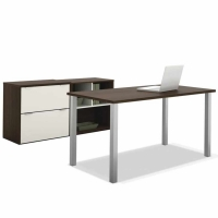 Bestar Contempo Executive Desk Kit (2 Finishes)