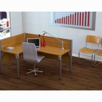 Bestar Pro-Biz Single Left L-Shaped Workstation