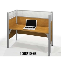 Bestar Pro-Biz Single Workstation 55.5 inches H