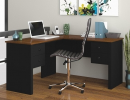 Bestar Somerville L-Shaped desk - 2 Finishes