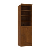 Bestar Versatile 25 inch Storage Kit in White or Tuscany Brown