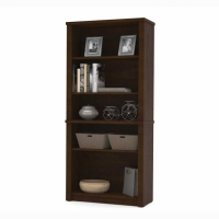 Bestar Prestige Plus Bookcase Chocolate