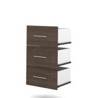 Bestar Nebula Drawer Set For 25 in. Storage Unit in Antigua 25163-1152
