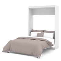 Bestar Nebula Full Wall Bed in White 25183-17