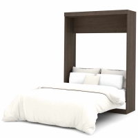 Bestar Nebula Full Wall Bed in Antigua 25183-52
