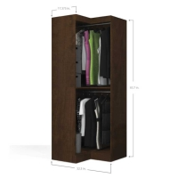 Bestar Pur Corner Unit in Chocolate 26165-69