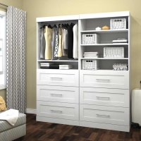 Bestar Pur 72 inch Storage Kit in White 26856-17