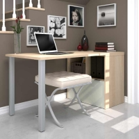 Bestar i3 Workstation - Northern Maple