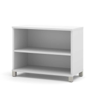 Bestar Pro Linea 2 Shelf Bookcase - 3 Colors