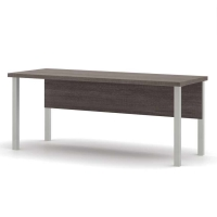 Bestar Pro Linea Table with Metal Legs - 3 Colors
