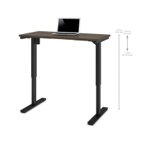 Bestar 24x48 Electric Adjustable Height Table - Antigua