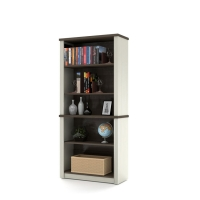 Bestar Prestige Plus Bookcase White Chocolate & Antigua