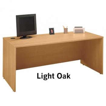 Furniture Gt Office Furniture Gt Desk Gt Light Oak 72 Desk
