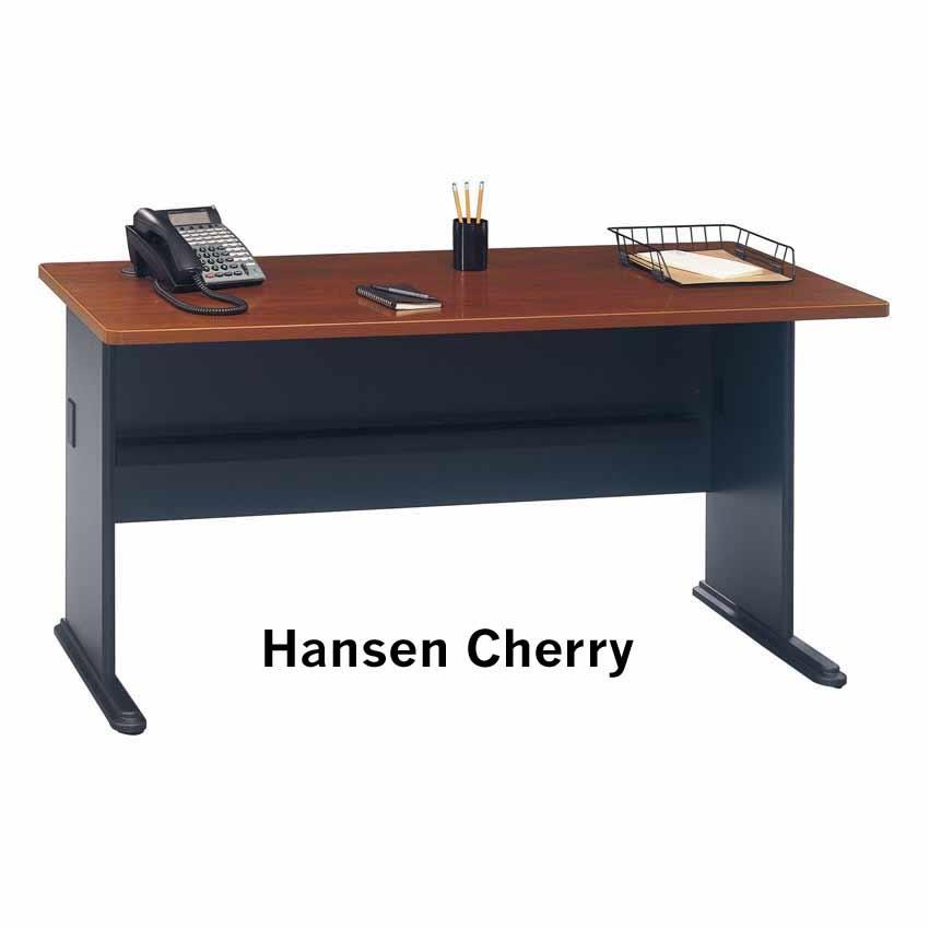 Series A Hansen Cherry 60 inch Desk WC A