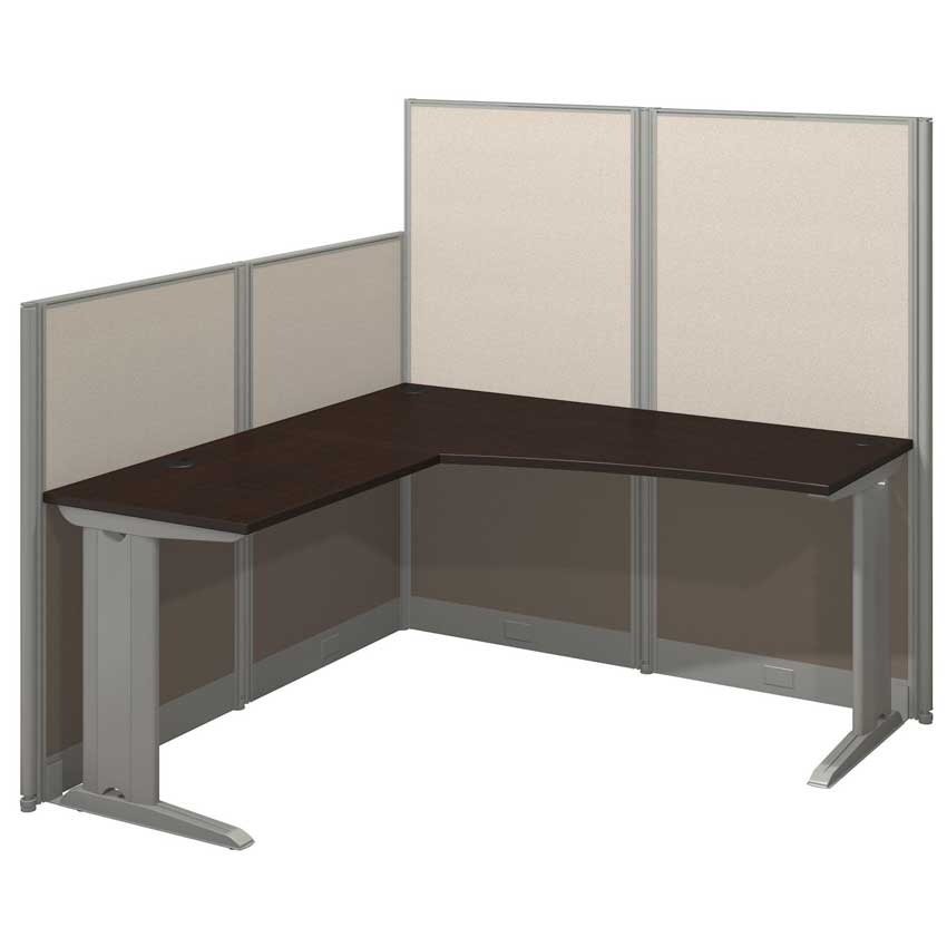 office in an hour 2 person workstation wpanels oiah008hc oiah008mc bush furniture bush furniture bush office