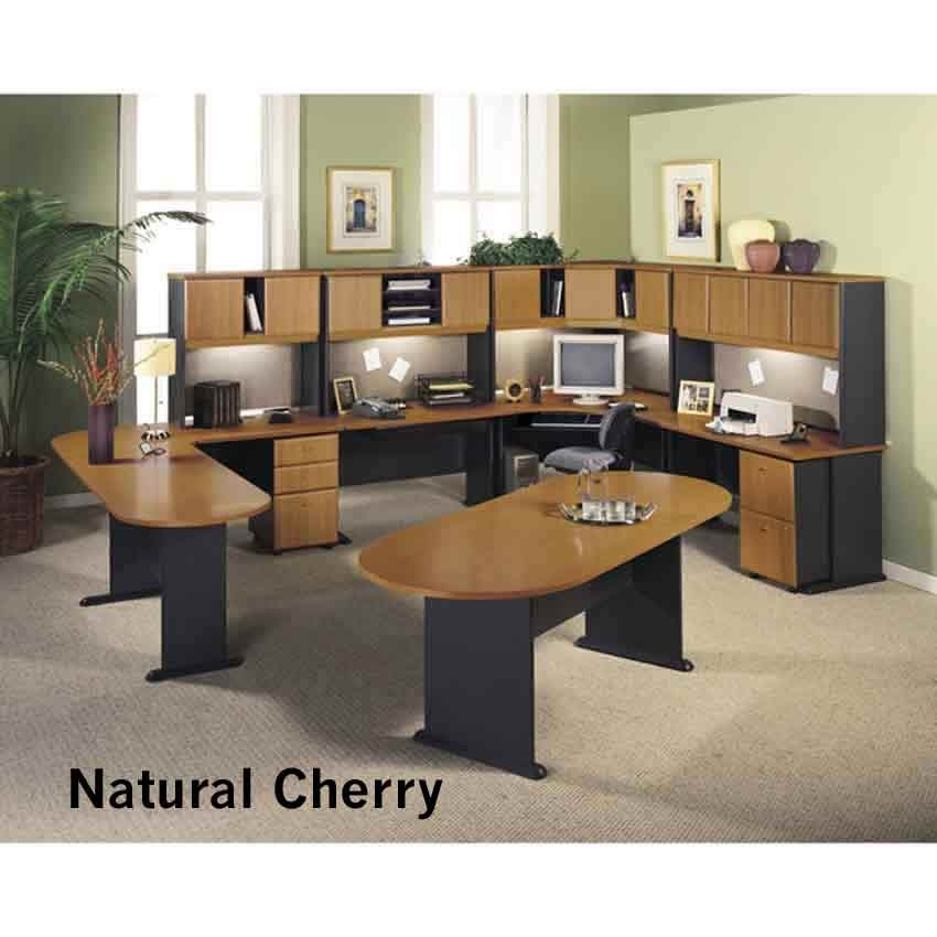 Series A Nat Cherry Office Group Advn Bush Furniture