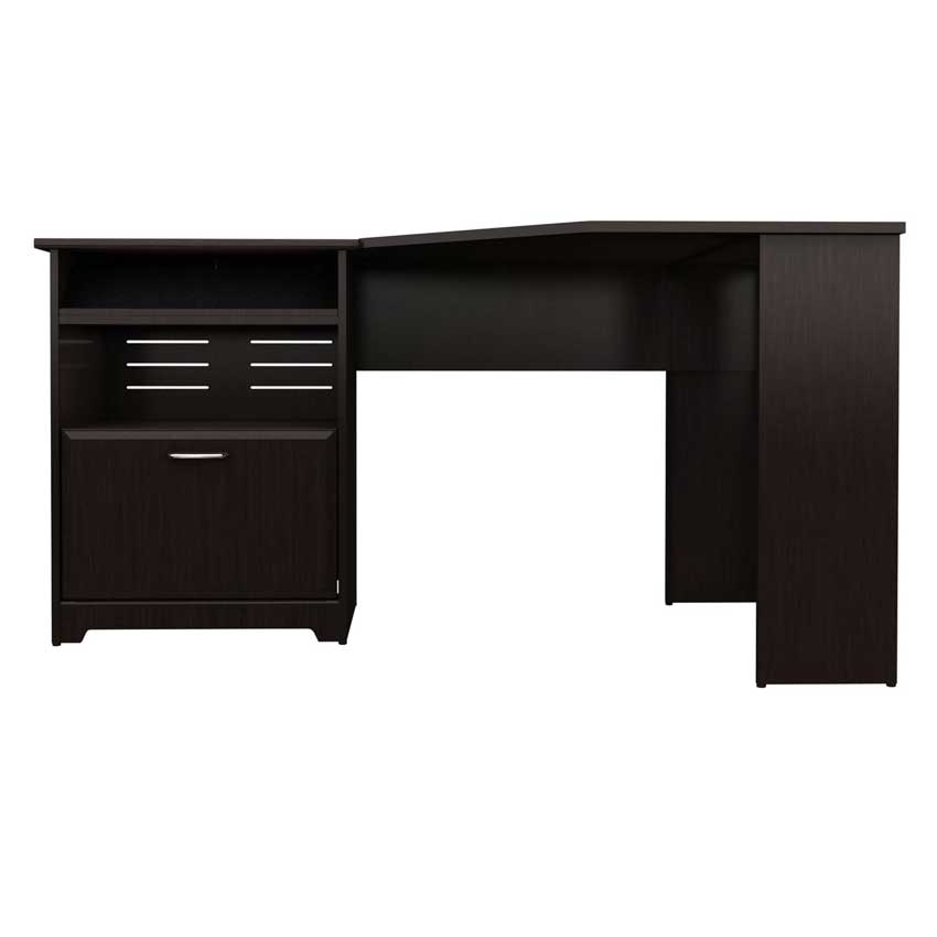 Bush Furniture Cabot Corner Desk Bush Furniture Cabot L