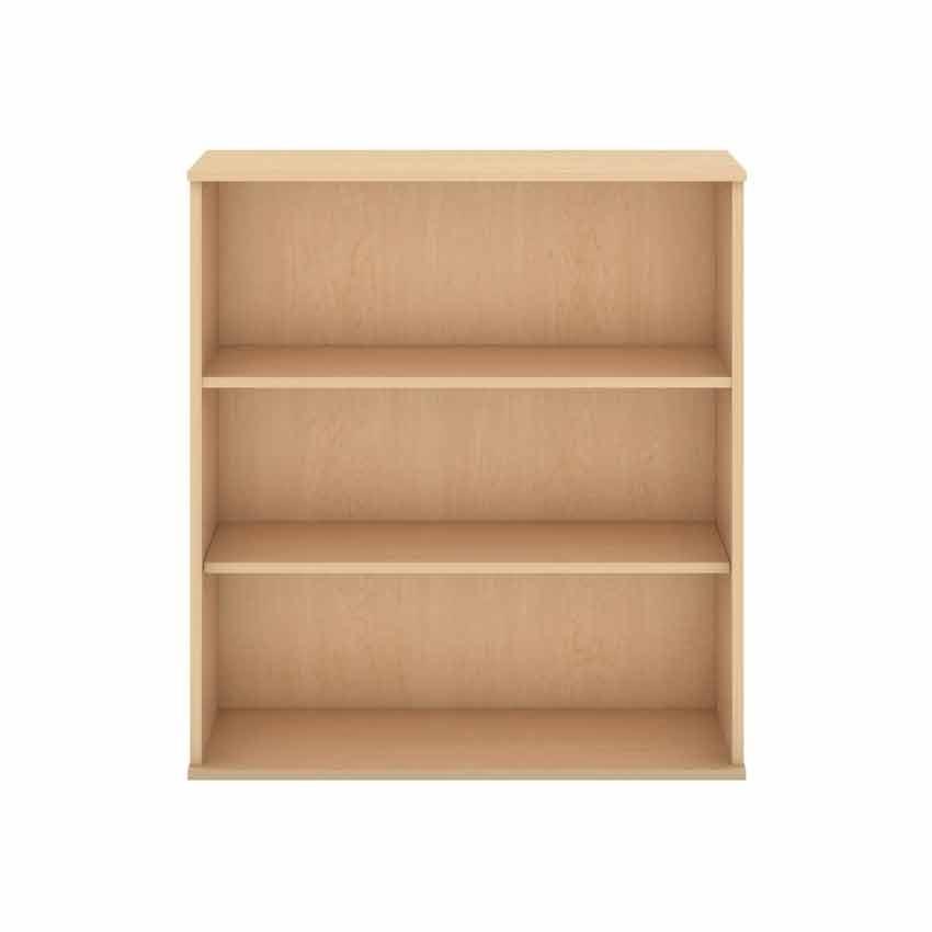 Bush 3 Shelf Bookcase - Natural Maple