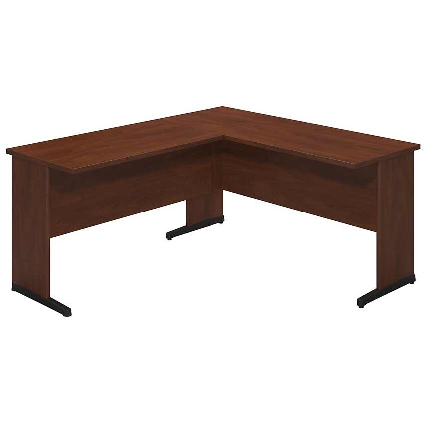 Series c elite 60x24 c desk with 42 inch return sre055hc bush furniture - Bush furniture parts ...