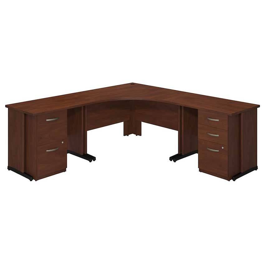 Series C Elite 48x48 Corner Desk Kit Sre210hcsu Bush Furniture
