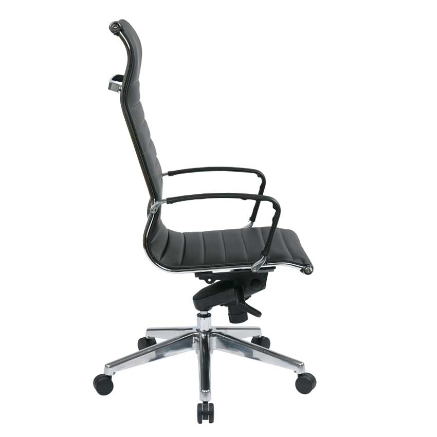 High Back Chair with Eco Leather Seat with Built in  : large456173603side Office Chair <strong>Neck Support</strong> from www.u-sav.com size 850 x 850 jpeg 65kB
