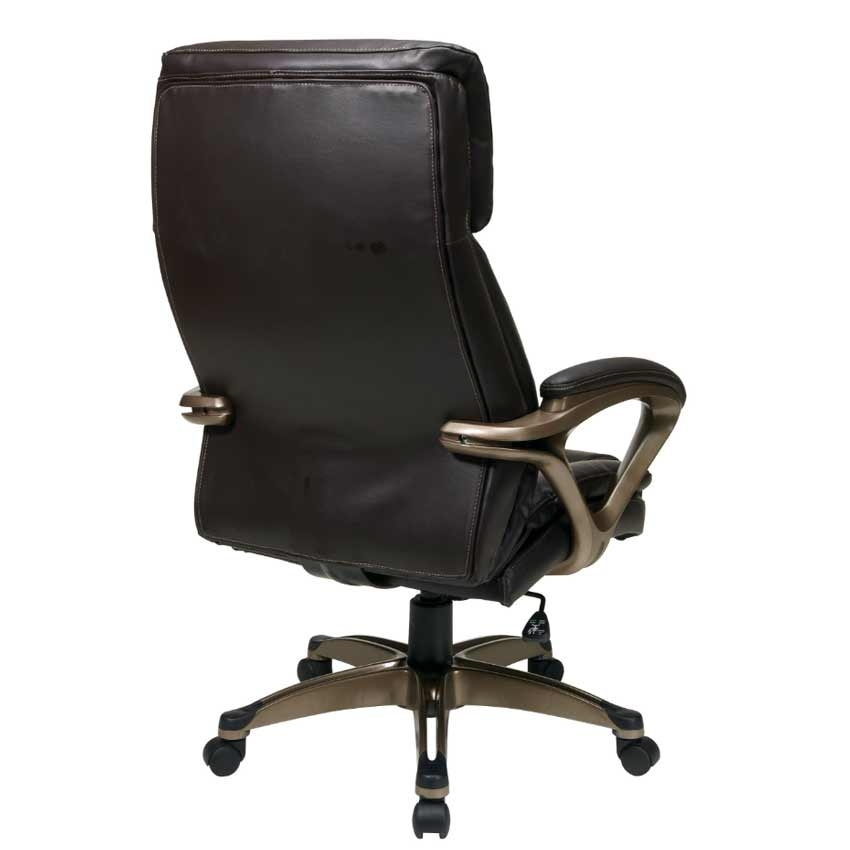 Executive Eco Leather Chair with Adjustable Headrest  : large4653ECH89301 EC1 back <strong>True Innovations</strong> Chair from www.u-sav.com size 850 x 850 jpeg 81kB