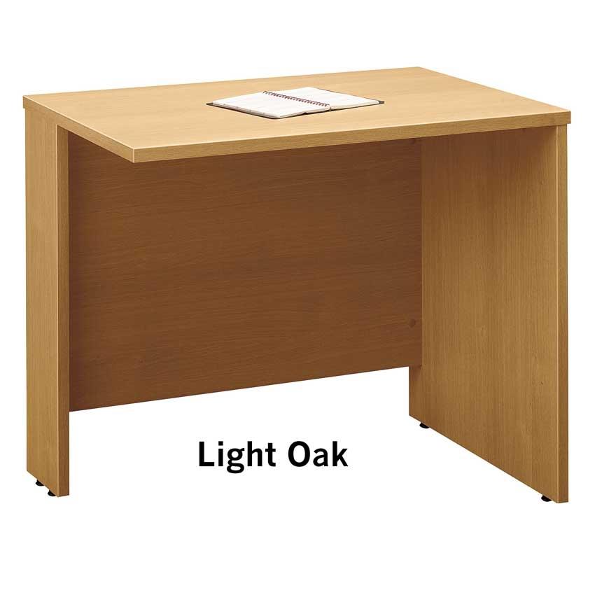 Series c light oak 36 inch return bridge wc60318 bush furniture - Bush furniture parts ...