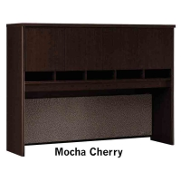 Bush Series C 60 inch Hutch - Mocha Cherry
