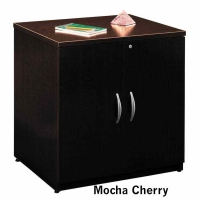 Bush Series C 30 inch Storage Cabinet - Mocha Cherry