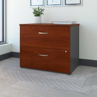 Bush Series C 36 inch Lateral File - Hansen Cherry