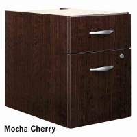 Bush Series C 3/4 Pedestal - Mocha Cherry