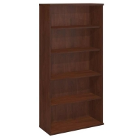 Bush Series C 5-Shelf Bookcase - Hansen Cherry