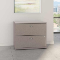 Bush Series A 36 inch Lateral File - Pewter