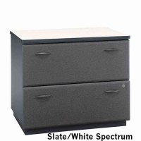 Bush Series A 36 inch Lateral File (Slate)