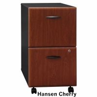 Bush Series A 2-Drawer Mobile File (Hansen Cherry)
